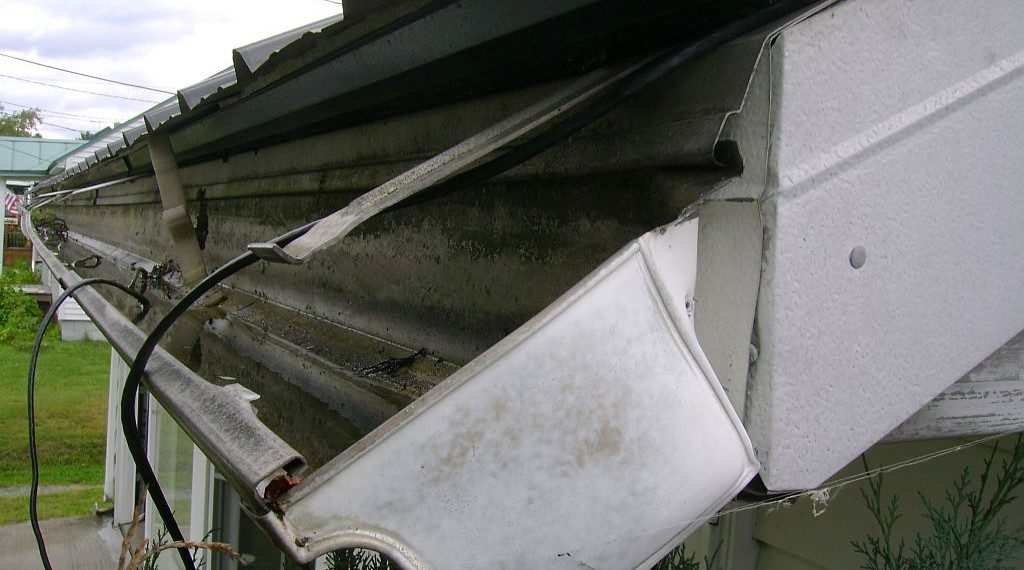 common gutter repairs