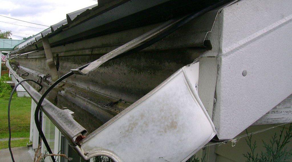 common gutter repairs