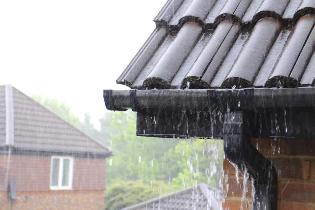 protecting home from water damage with gutters